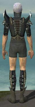 Necromancer Profane Armor M gray chest feet back