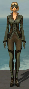Mesmer Istani Armor F gray front