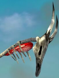 Bone Dragon Staff head