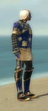 Mesmer Elite Canthan Armor M dyed side