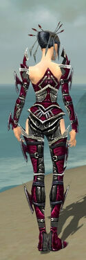Necromancer Elite Profane Armor F dyed back