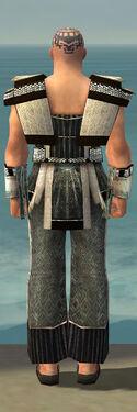 Monk Elite Sunspear Armor M gray back