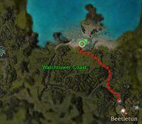 Inquisitor Lovisa map