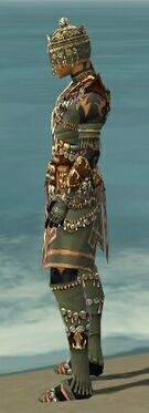 Ritualist Elite Imperial Armor M gray side