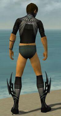 Assassin Vabbian Armor M gray chest feet back