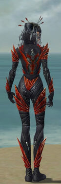 Necromancer Krytan Armor F dyed back