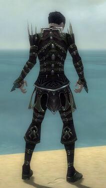 Necromancer Elite Cabal Armor M gray back