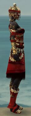 Ritualist Elite Imperial Armor F dyed side alternate