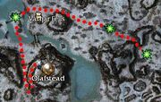 Haunted map