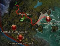 Return of the Yeti Map