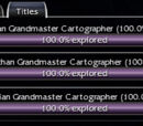 Grandmaster cartography guide