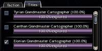 Grandmaster cartography guide