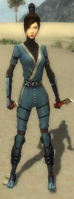 Zenmai Am Fah Armor F gray front