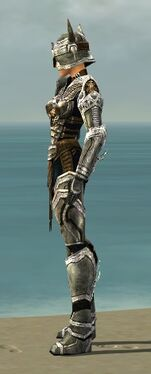 Warrior Elite Sunspear Armor F dyed side