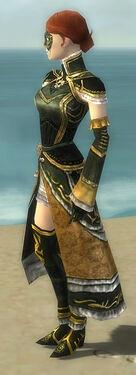 Mesmer Elite Sunspear Armor F gray side