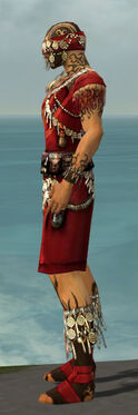 Ritualist Canthan Armor M dyed side