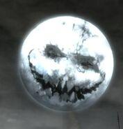 Halloween LionsArch Moon