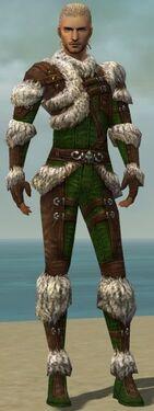Ranger Elite Fur-Lined Armor M dyed front
