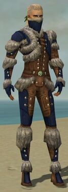 Ranger Fur-Lined Armor M dyed front