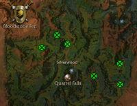Woho Sacredhide map