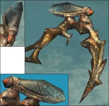 Insectoid Scythe head