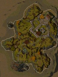 Wizard's Isle map