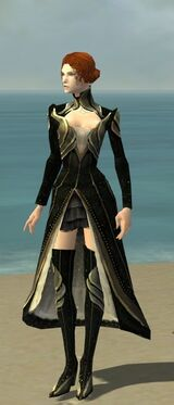 Mesmer Asuran Armor F gray chest feet front