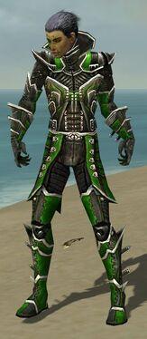 Necromancer Elite Kurzick Armor M dyed front