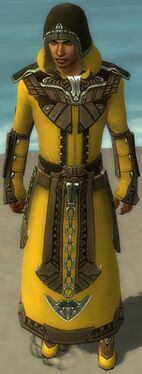 Dervish Asuran Armor M dyed front