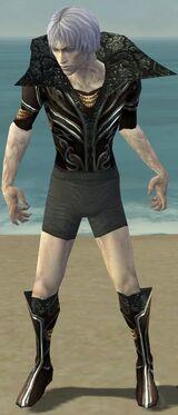 Necromancer Vabbian Armor M gray chest feet front