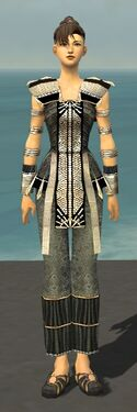 Monk Elite Sunspear Armor F gray front