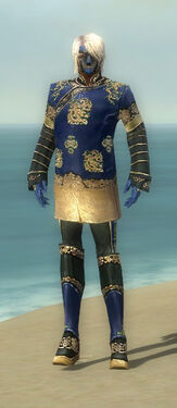 Mesmer Elite Canthan Armor M dyed front