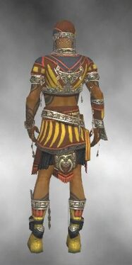 Ritualist Asuran Armor M dyed back