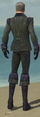 Mesmer Elite Elegant Armor M gray back