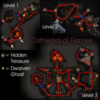 Cathedral of Flames Map