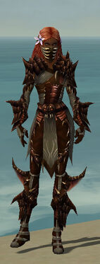 Ranger Primeval Armor F gray front