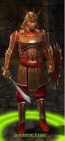 Guardsman Kayao
