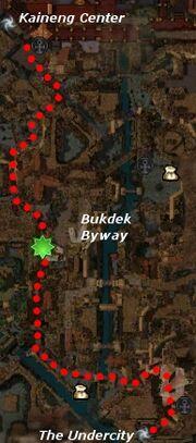 Chasing Zenmai map