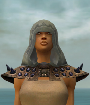 File:Dervish Obsidian Armor F gray head front.jpg