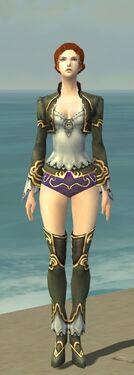Mesmer Monument Armor F gray chest feet front