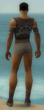 Dervish Elite Sunspear Armor M gray chest feet back