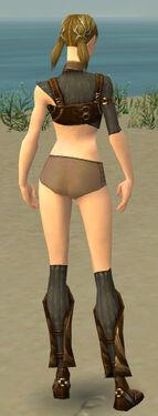 Ranger Sunspear Armor F gray chest feet back
