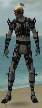 Assassin Obsidian Armor M gray front