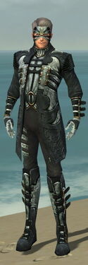 Mesmer Elite Kurzick Armor M dyed front