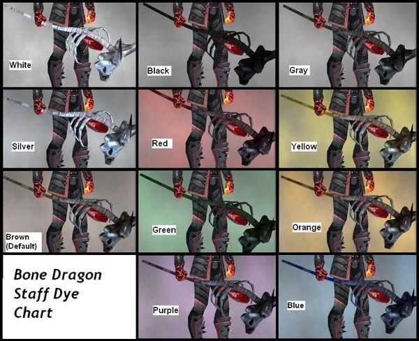 BDS Dye Chart