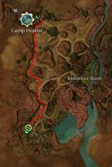 Commander Wahli Map