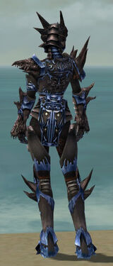 Warrior Primeval Armor F dyed back