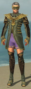 Mesmer Vabbian Armor M gray chest feet front