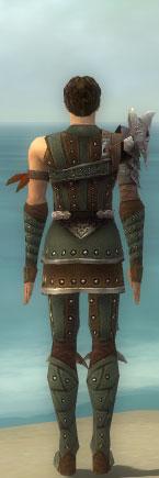 File:Ranger Elite Studded Leather Armor M gray back.jpg