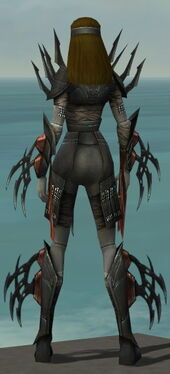 Assassin Ancient Armor F gray back
